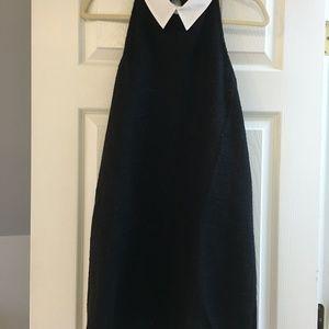 NWT Zara Trafaluc sleeveless dress with collar